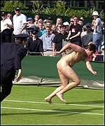 Mark Roberts at Wimbledon