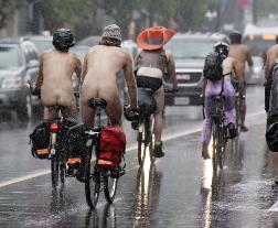 World Naked Bike Ride in Canada